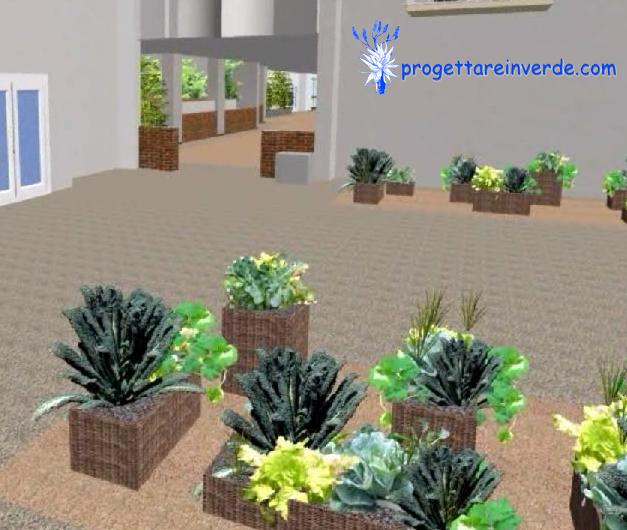 coltivazione piante orto ornamentale in condominio