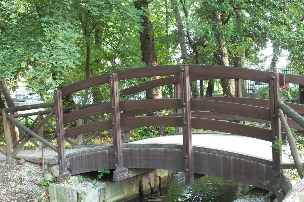 ponte su fiume