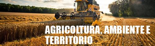 Agricoltura, ambiente e territorio